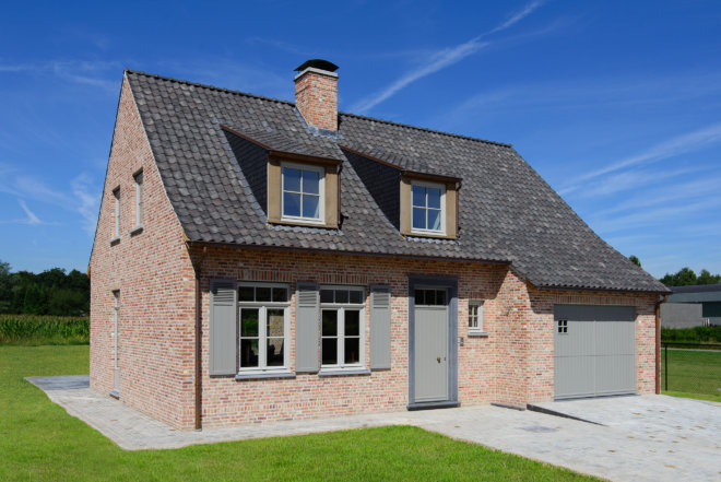 Geothermie huis Melle
