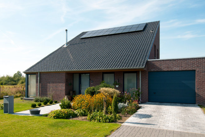 Geothermie huis_Wondelgem